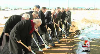 Hunt and Woodbury Corporation Break Ground on New Falcon Hill Facility at Hill Air Force Base