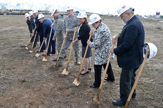 Hunt and Woodbury Break Ground on New USTAR Innovation Center at Falcon Hill