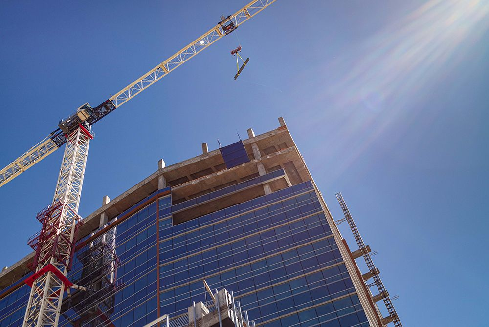 "WestStar Tower Reaches Construction Milestone Downtown's Newest High-Rise ""Topped Off"""